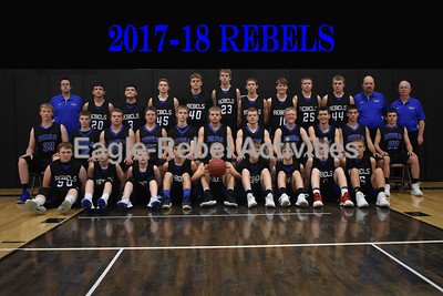 Rebel Basketball Portraits