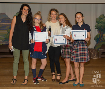 Middle School Lingua Italiana Awards