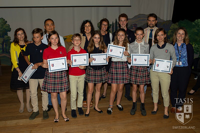 Middle School History Awards
