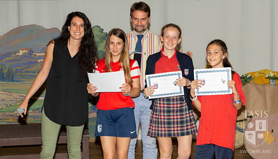 Middle School Scrittura Awards