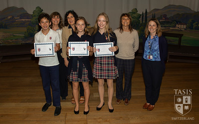 Middle School English Awards