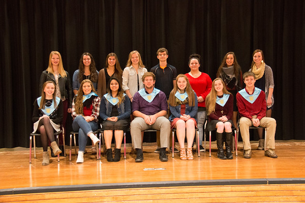 National Honor Society Tapping