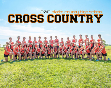 2017 PC Cross Country Team