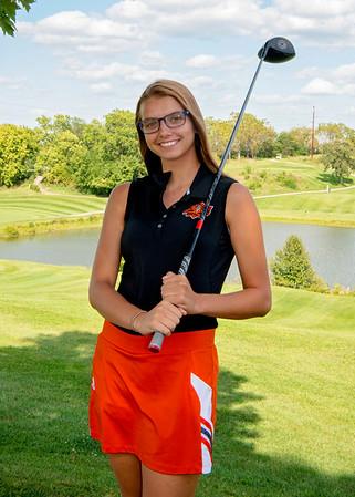 2017 Platte County Girls Golf