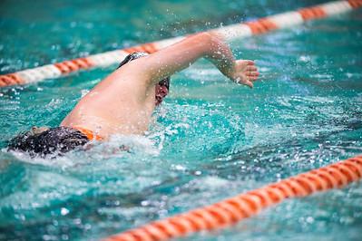 2017 Platte County Swim - Senior Night