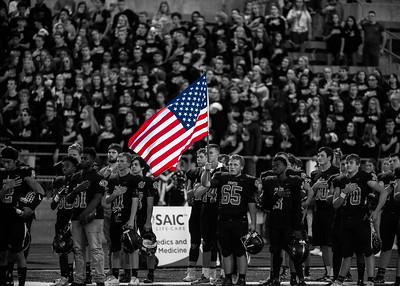 2017 Platte County Varsity Football vs Winnetonka Senior Night