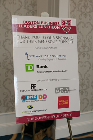 Boston Business Leaders Luncheon 2018