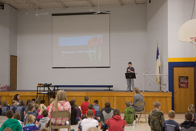 Fourth Grade Chapel 11-10-2017