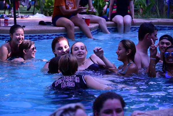 Freshmen Pool Party