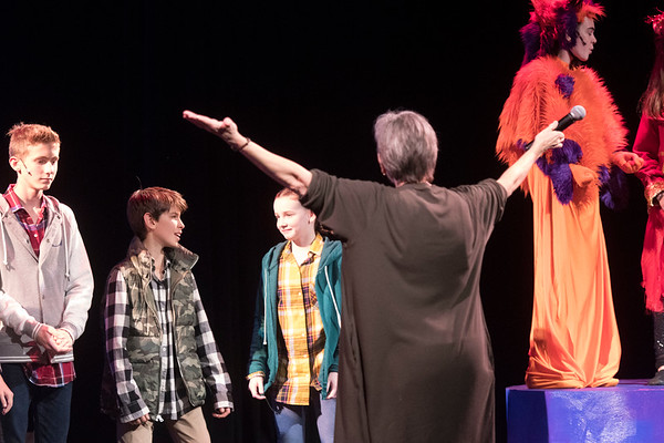 MS Fall Play 'A Wrinkle in Time', Nov. 2017
