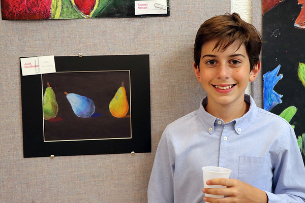Middle School Arts Gallery Opening