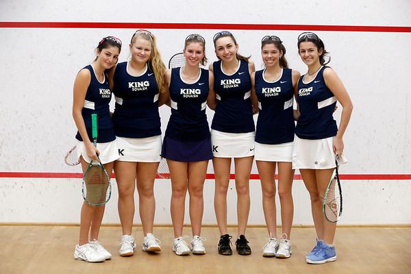 Vikings Varsity Girls Squash Feb. 2018
