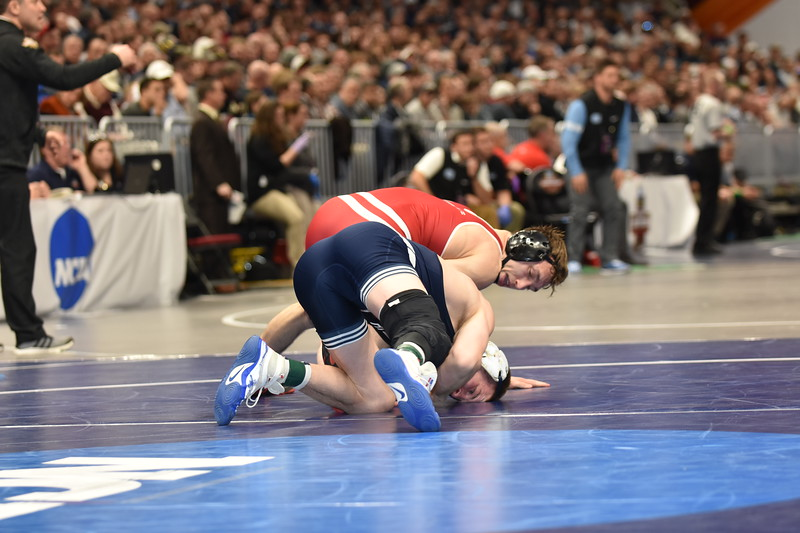 2018 NCAA Division I Championships<br /> 157 - Jason Nolf (Penn State) won by decision over Andrew Crone (Wisconsin) (Dec 6-1)