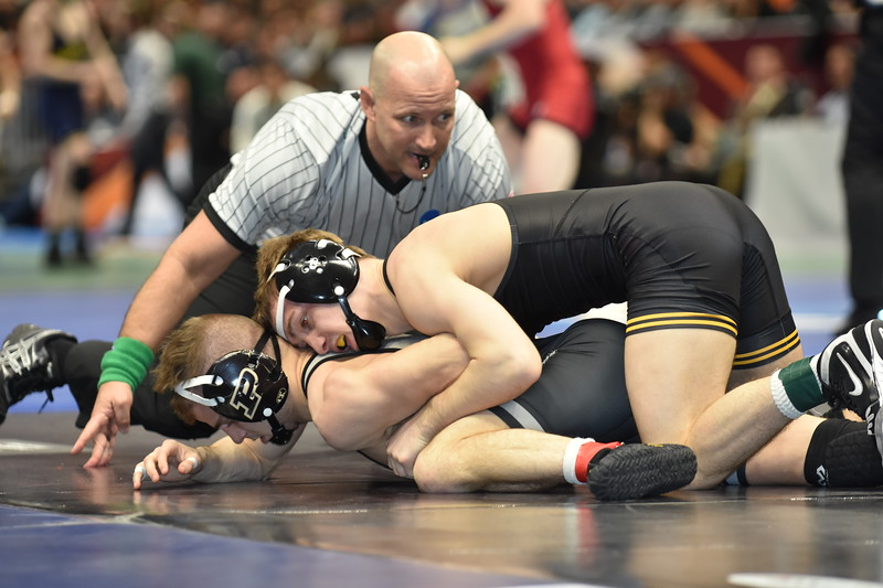 2018 NCAA Division I Championships<br /> 125 - Spencer Lee (Iowa) won by tech fall over Luke Welch (Purdue) (TF-1.5 3:59 (18-0)