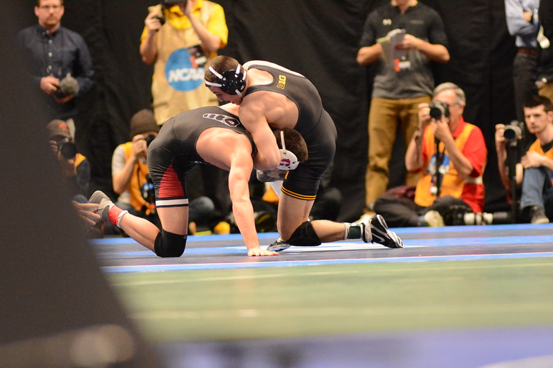 2018 NCAA Division I Championships<br /> 157 - Michael Kemerer (Iowa) won by fall over Paul Fox (Stanford) (Fall 4:52)