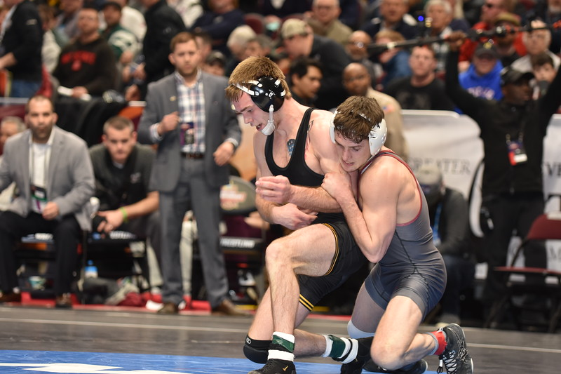 2018 NCAA Division I Championships<br /> 149 - Ronald Perry (Lock Haven) won by decision over Brandon Sorensen (Iowa) (Dec 3-2)