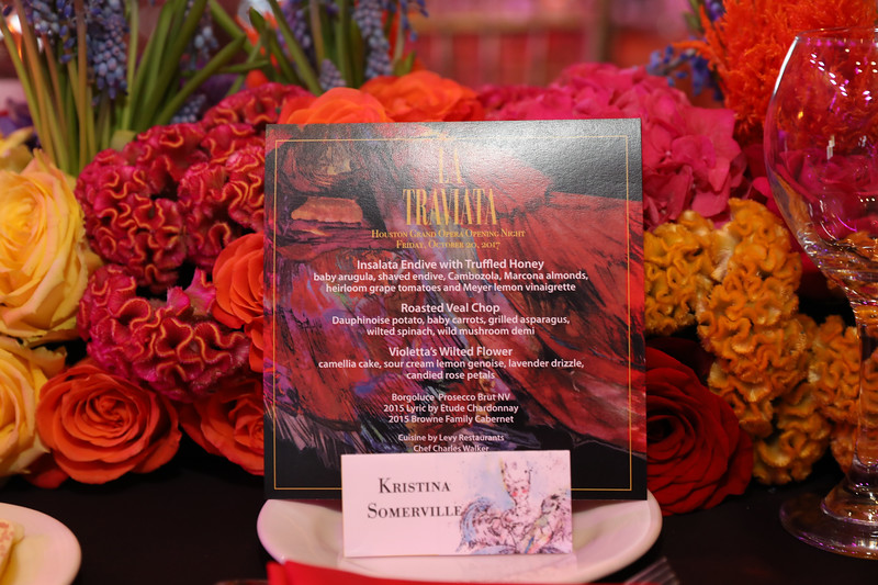 La traviata Opening Night Dinner Celebration - Houston Grand Opera (HGO)