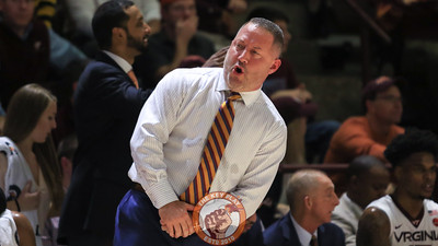 Head coach Buzz Williams reacts after a foul call goes against his team. (Mark Umansky/TheKeyPlay.com)