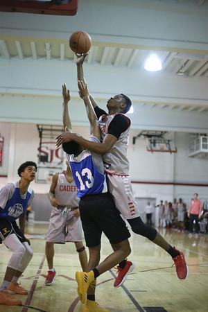 Boys Basketball: St. John's vs. Wise Scrimmage