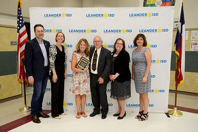 """Sarah Hyde, LISD coordinator of advanced/gifted programs, 30 years in education and 25 years in LISD  Memorable moment: """"My most precious memories of LISD will always be my years spent with QUEST students and QUEST colleagues."""""""