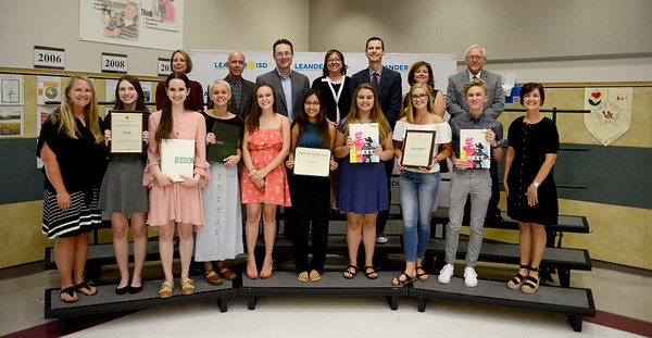 Yearbook staffs at Cedar Park High School, Leander High School, Vandegrift High School and Vista Ridge High School, recognized for thriving at state and national competitions. The yearbooks include Tracks from CPHS, The Lair from LHS, the Lone Star from VRHS and The Veteran from VHS.