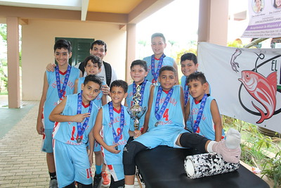 Colegio Inmaculada - Mini Boys Basketball Team - 2nd Place