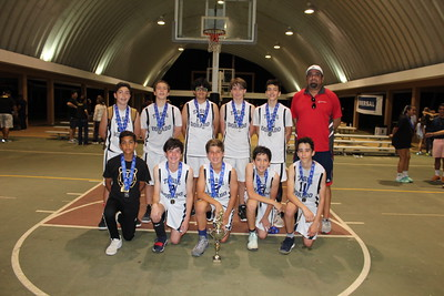 TASIS Dorado Youth Boys Basketball Team - 2nd place