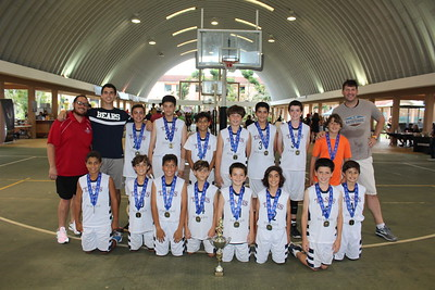 CHAMPIONS! TASIS Dorado Mini Boys Basketball Team