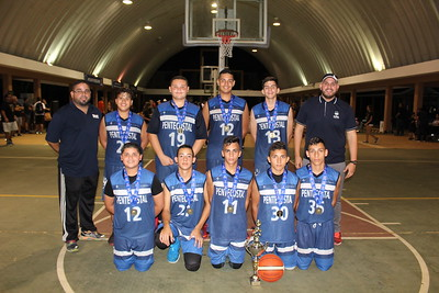 Colegio Pentecostal - Youth Boys Basketball Team - 1st Place