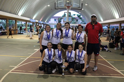 TASIS Dorado Youth Girls Basketball Team - 2nd place