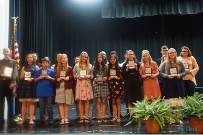 Junior High Awards Program
