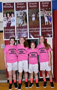 A Senior Moment…AMHS Girls Varsity Basketball photos by Gary Baker