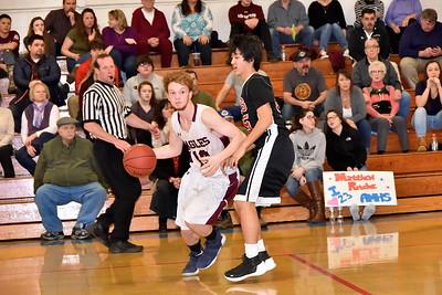 AMHS Boys Varsity Basketball vs Long Trail photos by Gary Baker