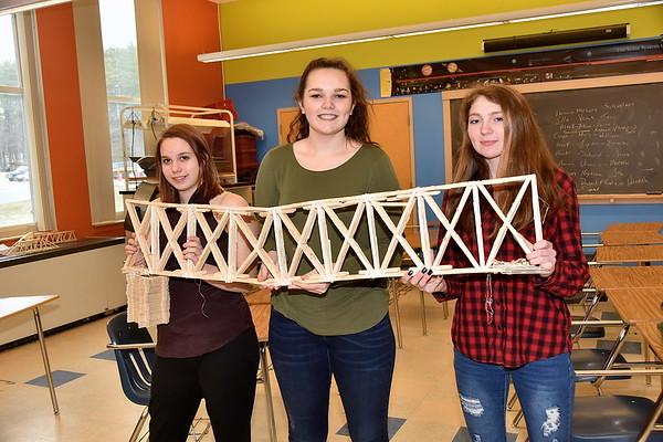 AMHS Bridge Builders…VTC Bridge Competition Winners photos by Gary Baker