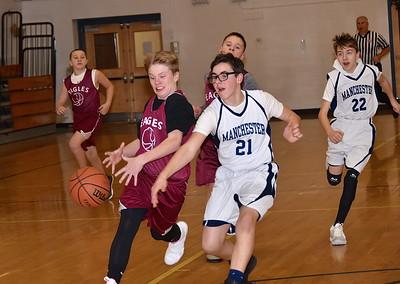 AMHS M.S. Boys Basketball vs MEMS photos by Gary Baker