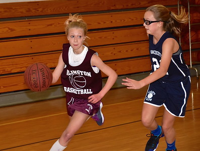 AMHS M.S. Girls Basketball vs MEMS photos by Gary Baker