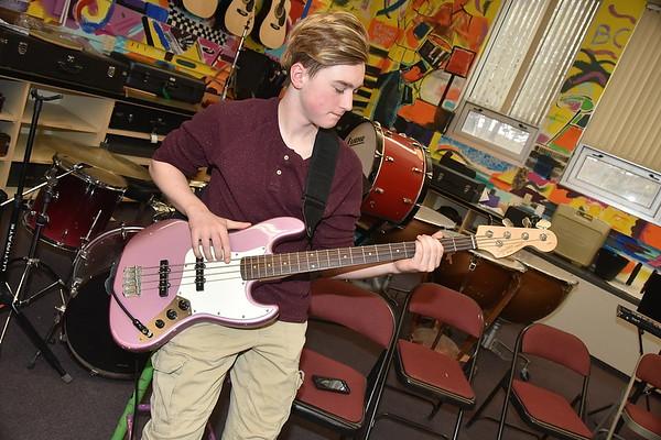 AMHS Rock Band photos by Gary Baker