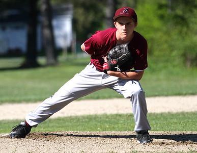 AMHS Varsity Baseball vs Long Trail School photos by Gary Baker