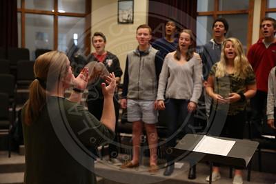LA Singers Rehearsal