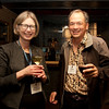 Cindy Chew<br /> 2/15/18<br /> John Toupin, Class of '81, with his wife Ann Poncelet gather at the annual BB&N San Francisco alumni event.