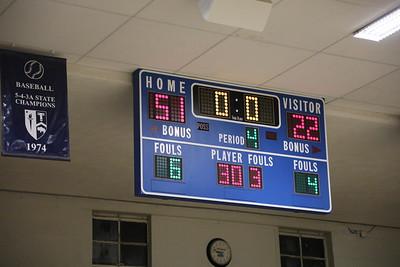 Boys Basketball vs. Plainville 2018