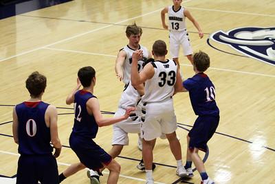 Boys Basketball vs. Russell 2018