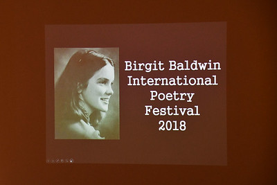 Birgit Baldwin International Poetry Festival 2018