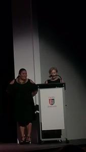 Producer Ms. Lourdeliz Ramos with Ms. Susan Fiallo