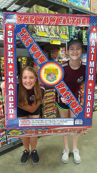 Fireworks Fundraiser July 2017