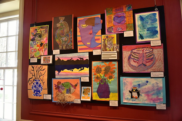 Fisher Art At SVAC photos by Gary Baker