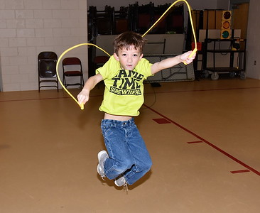 Fisher Practices For Jump For Heart photos by Gary Baker