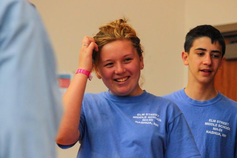 130-22823 - Elm Street Middle School - Shooting Starfish - New Hampshire - Improvisational Challenge - Treasure! - Middle Level