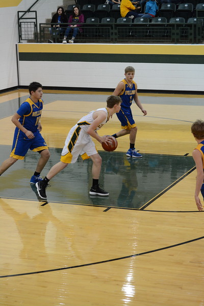 Guthrie vs Spur Basketball