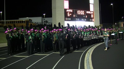 2017.10.12 - Jasper Band Fight Song End of Halftime